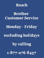 Brother Customer service image