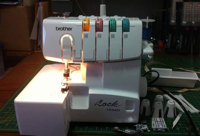 Brother 1034d Serger